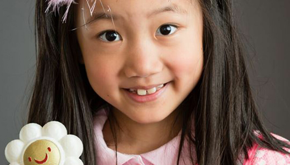 TEGNEFILM: Alexis fikk leukemi da hun var tre. Nå har hun laget en tegnefilm som skal hjelpe andre barn som får kreft.