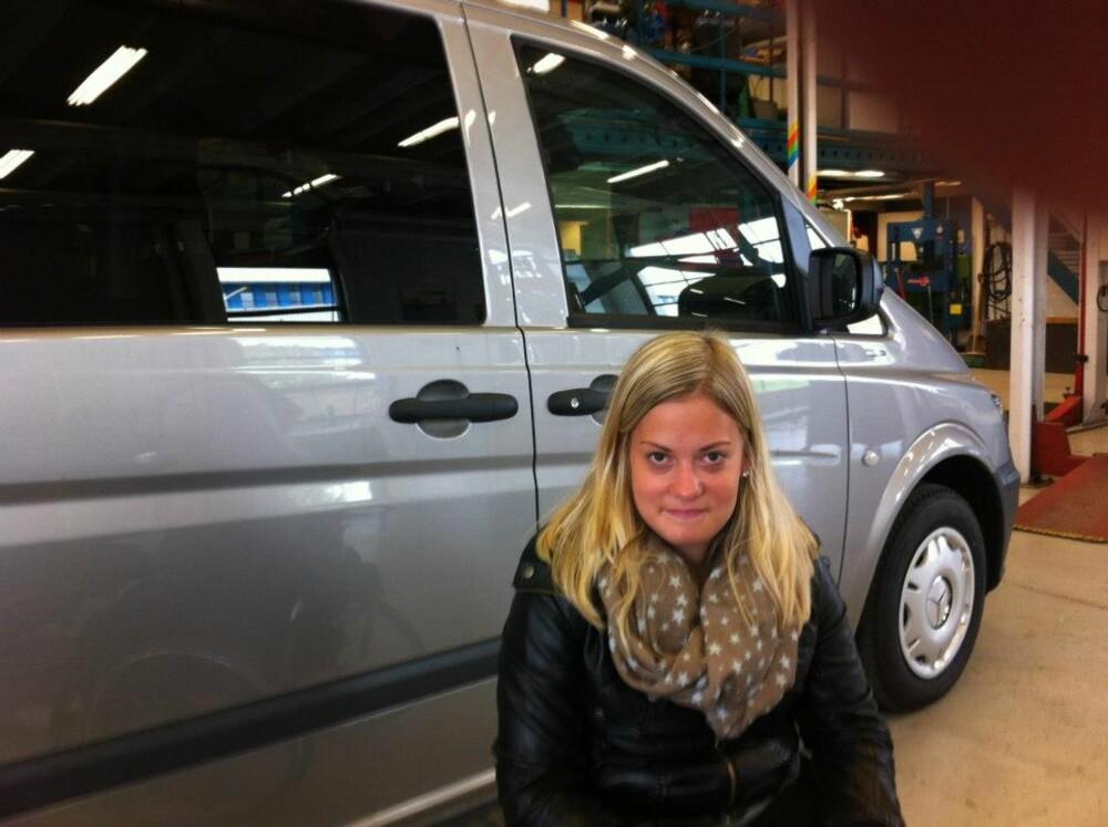 INGEN KARMA: Marit fikk seg ny bil - men hadde ingen bilkarma. Det var en lettelse da hun droppet å ta sertifikat.