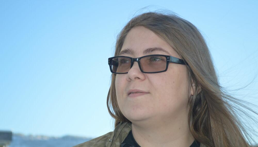 HØRER STEMMER: Ingvild Portaasen (30) fra Mjøndalen lever med Schizoaffektiv lidelse, depressiv type. En diagnose som blant annet gjør at hun hører stemmer i hodet som ikke eksisterer i den virkelige verden.