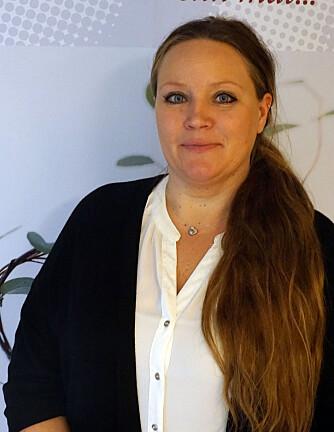 KONTROLL: Elin Olsen, daglig leder ved Interessegruppa for spiseforstyrrelser, mener  at spiseforstyrrelser ikke handler om mat, men om kontroll. FOTO: IKS.
