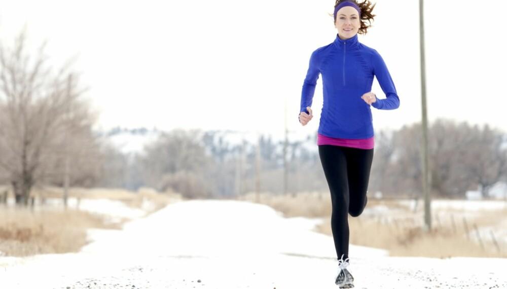 TA EN TEST: Sjekk løpetråkket ditt og skaff deg sko tilpasset din fot før du begynner med løpetreningen utendørs.