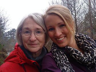 MOR OG DATTER: Begge fikk kreft, men bare én av dem overlevde.