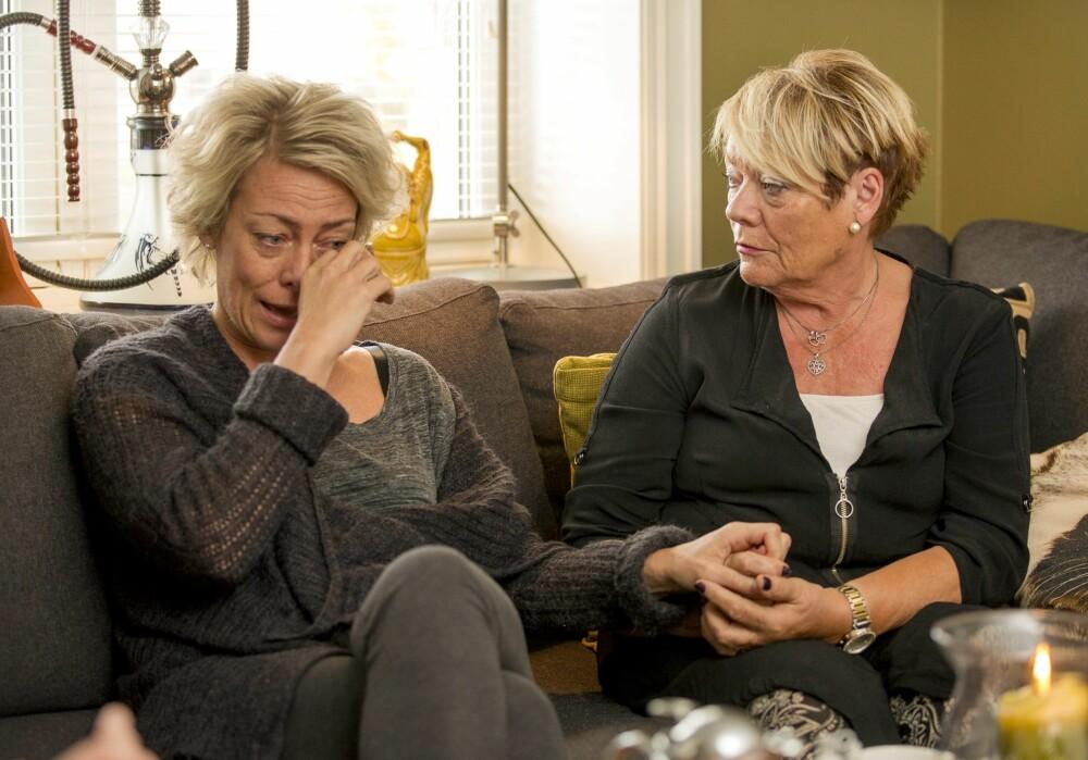 SVIK: Annett og mamma Reidun har et nært og godt forhold - men sviket Annett opplevde vil hun aldri greie å tilgi.