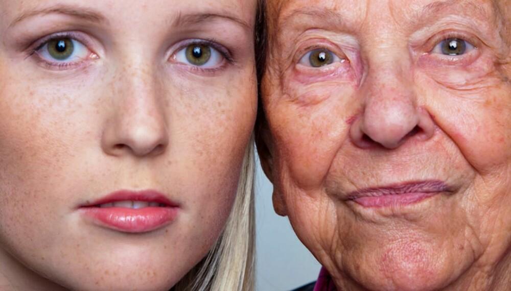 IKKE BARE YTRE ENDRINGER: Flere forskere og fagpersoner hevder at også kroppslukten endrer seg med alderen, samtidig er andre forskere skeptisk til eller ukjent med dette.