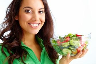 SUNN MAT: Dersom du ønsker en strammere kropp må du se på helheten i kostholdet ditt og unngå fete matvarer, særlig det mettede fettet som er helseskadelig på flere måter enn kun overvekt.