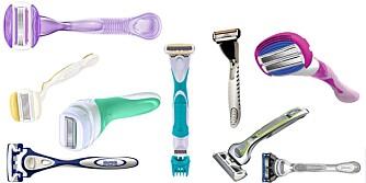 MED I TESTEN: I alt 9 produkter, både for damer og herrer, har blitt testet av et kvinnelig panel på fire personer.