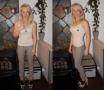 I DAG: Helene har funnet sin matchvekt og kan endelig bruke klærne hun lenge har hatt lyst til å bruke.