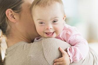 KVINNENSVALG:I Danmark aborteres 98-99% av fostre med Downs Syndrom. Leder for den danske jordmorforeningen, Lillian Bondo, synes vi bør være mer opptatt av hvordan vi tar imot de som likevel blir født, enn å dømme de kvinnene som velger å ta abort.  FOTO:© Getty Images
