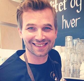 EKSPERT PÅ KAFFE: Preben Oosterhof, daglig leder Dromedar Kaffebar AS. FOTO: Privat.