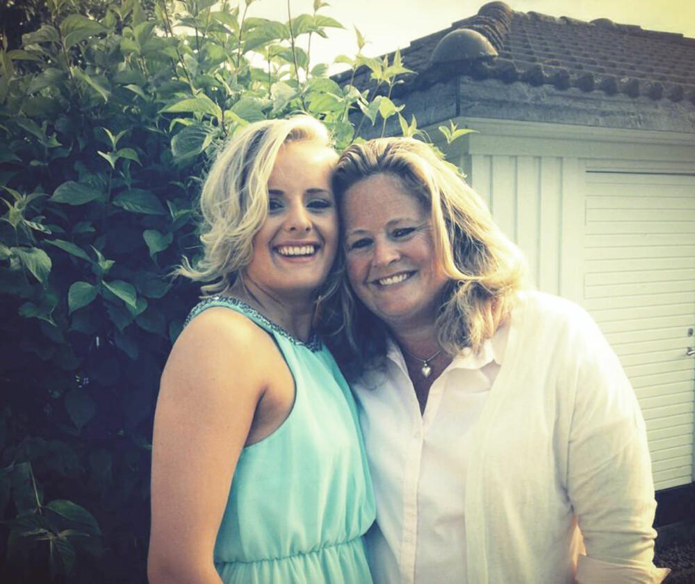 STOLT: Mamma Elin er stolt av Martine. Ikke for hva hun presterer - men for hvem hun er.