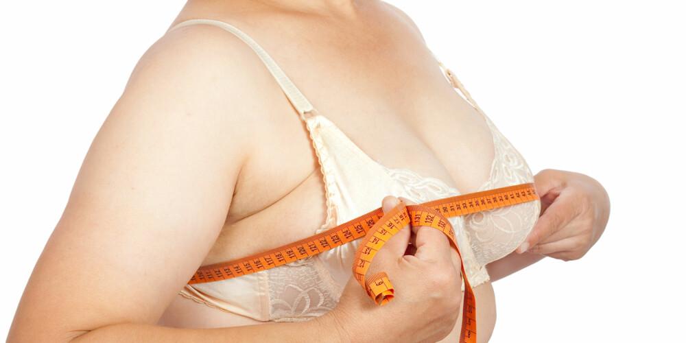 FÅ DEM BORT: - De fleste har hatt plager av brystene i en årrekke og ønsker dem bare bort, sier Dr. Øyvind Borch Bugge, spesialist i plastikkirurgi ved Bugge Plastikkirurgi. ILLUSTRASJONSFOTO: Colourbox