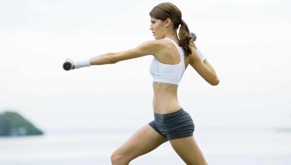 HELÅRSKROPPEN: Med enkle øvelser kan du holde deg sunn og sterk hele året rundt.