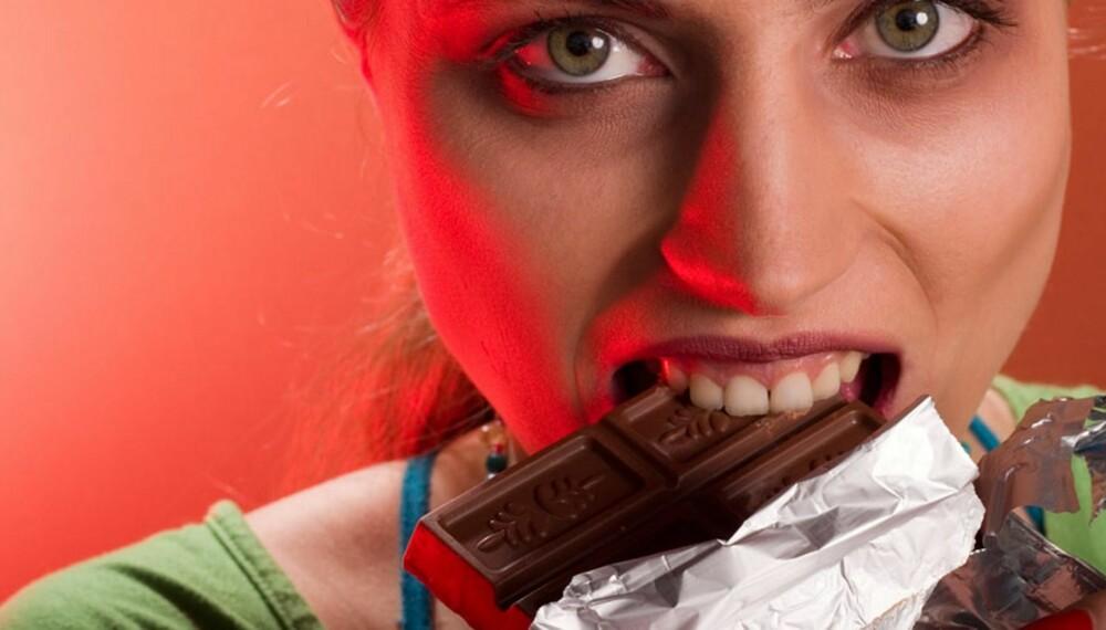 INNSTILLING: Vi er gode på å finne unnskyldninger og grunner for å spise søtsaker, men alt i alt handler det om egen kontroll over tankene sine.