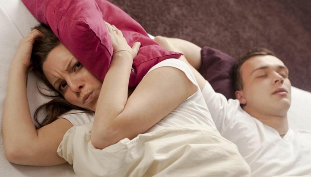 SAMLIVSKNEKK: Dårlig søvn går ikke bare utover den ene parten, også den andre vil lide av partnerens problem gjennom blant annet å bli lite verdsatt.