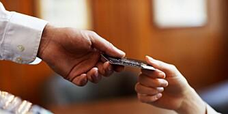 KREDITTKORT ER GREIT: Så lenge du har en nedbetalingsplan klar, og du kan kvitte deg med gjelden raskt.