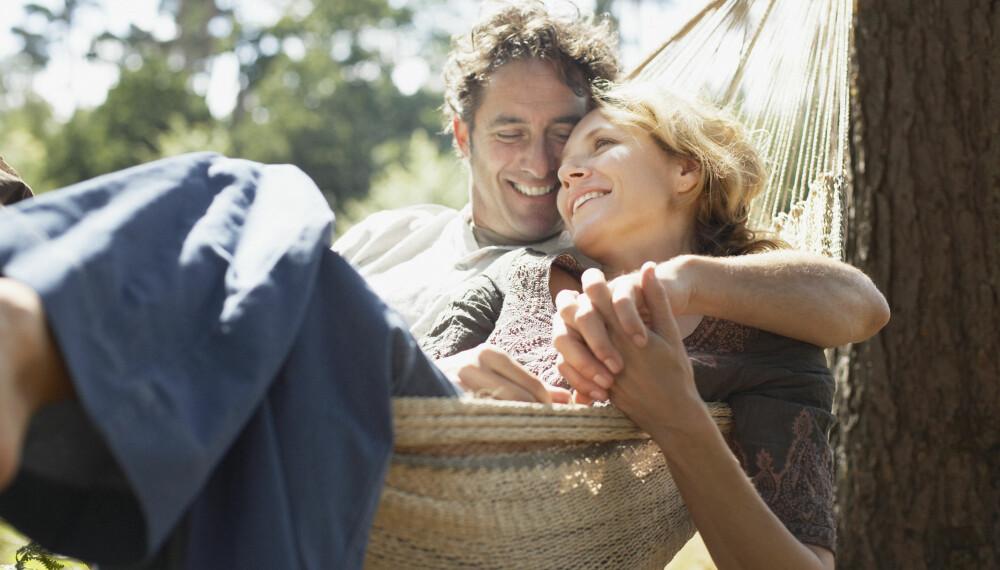 TIL STEDE: Et kjennetegn ved folk som opplever høy grad av lykke, er at de ofte er til stede i øyeblikkene i livet sitt.
