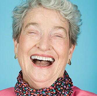 FORLENGER LIVET: En god latter reduserer stress, og forlenger livet.