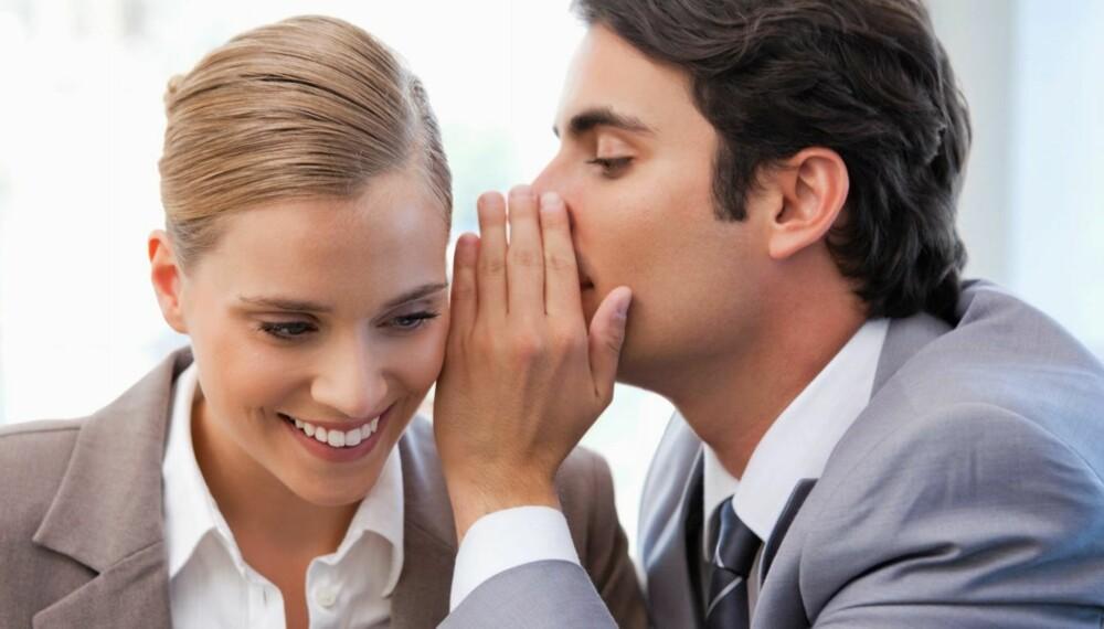JOBBSNAKK: Vær forsiktig med hvordan du snakker med og om kollegaer.