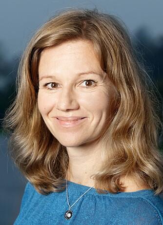TRYGG I TRAFIKKEN: Kommunikasjonssjef hos Trygg Trafikk Kristin Øyen.