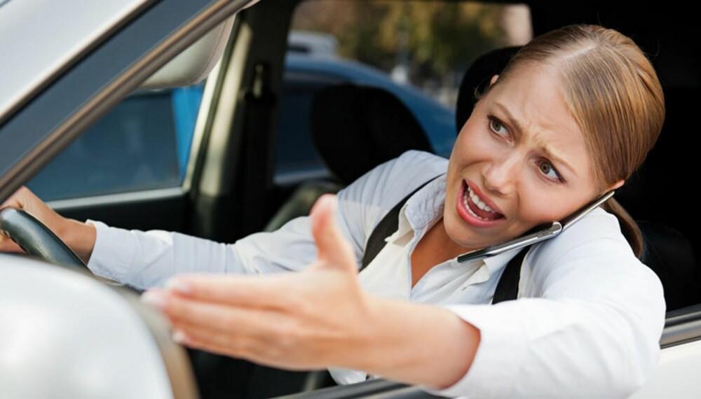 RO DEG NED: Gjør du ikke det, er du ikke bare en fare for deg selv, men du er også en fare for andre i trafikken når du begynner å kjøre igjen.