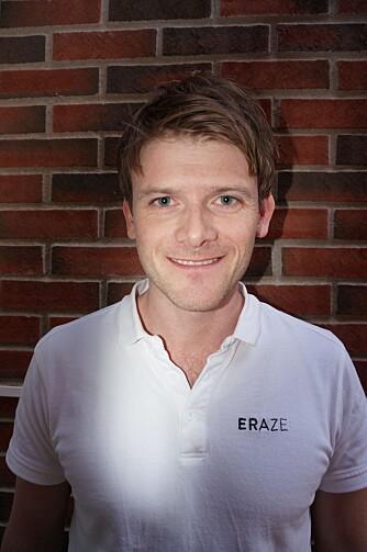 TILBYR LASERBEHANDLING: Marcus Nøstdahl er klinikkleder for Eraze Oslo. FOTO: Privat.
