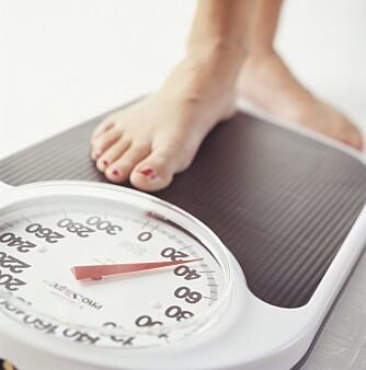 HARDT ARBEID: - For å lykkes med en vektreduksjon på et halvt til ett kilo i uka, kreves det vilje og målrettet fokus på både kosthold og trening, sier Marte Resell Eriksson.