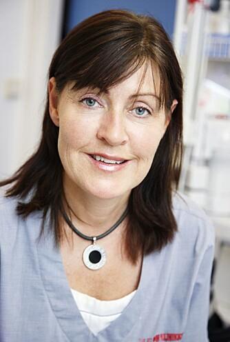 YLVA OHLSSON: Hudlege ved Hudklinikken i Oslo.