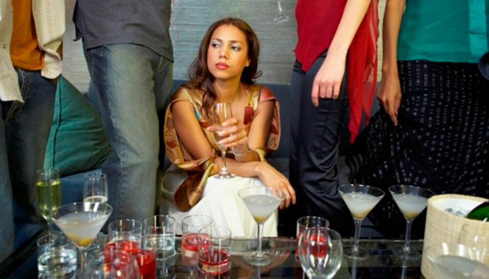 IKKE GÅ I FELLA: Det finnes noen regler man ikke skal bryte når man går på fest.