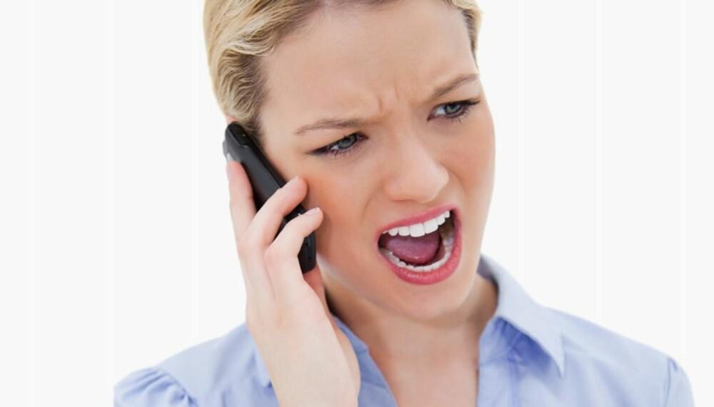 NEI TAKK: Har du reservert deg mot telefonsalg og du likevel blir oppringt, så er du ikke uhøflig om du takker nei og legger på; det er selgerne, som ikke respekterer din reservasjon, som er uhøflige. I tillegg til at de faktisk bryter loven.