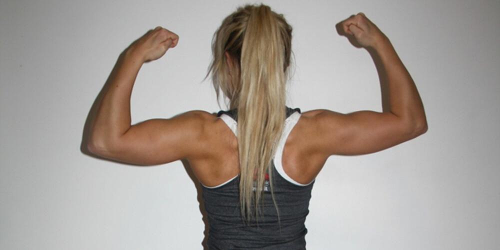FÅ TRENINGSRESULTATER: Det er sunt å trene for å bevare formen din. Foto: Kristine Solhaug