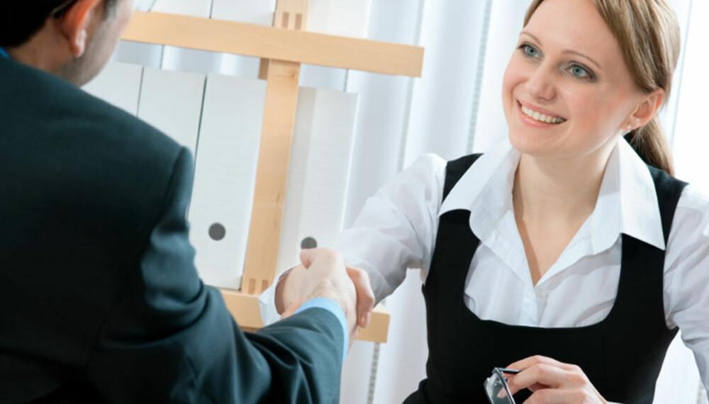Bli likt på jobbintervjuet