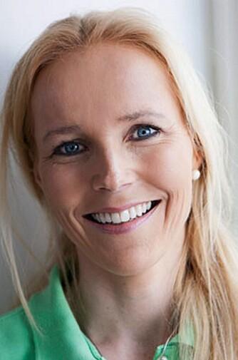 """OVERLEGE OG FORFATTER: Berit Nordstrand er lege og forfatter av boken """"""""Mat med mer""""""""."""