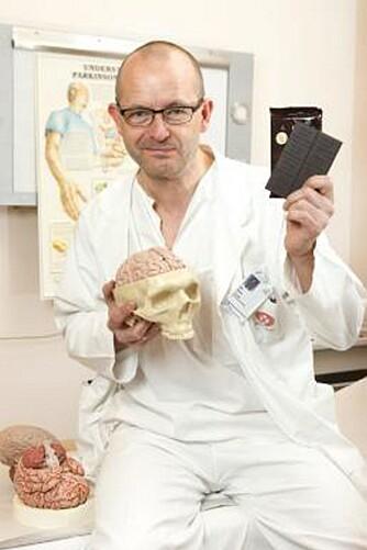 OVERLEGE: Are Brean ved nevrologisk avdeling på Rikshospitalet.