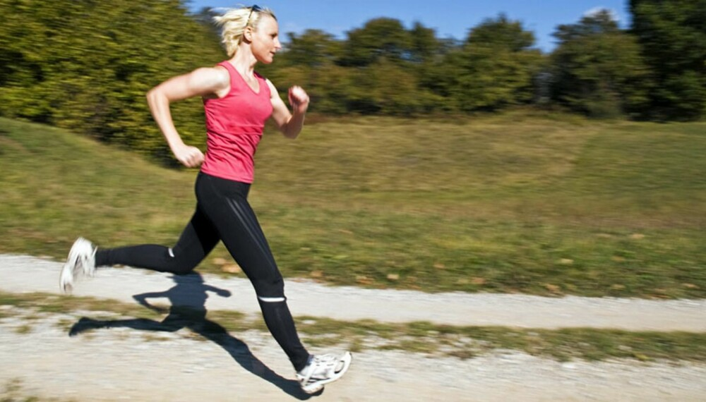 LØP AV DEG PÅSKEN: På tide å ta i et tak og komme skikkelig i form igjen etter ferien.