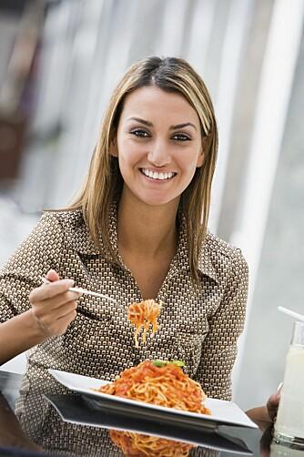 SPISEPLAN: Klinisk ernæringsfysiolog Caroline Schreiber anbefaler å lage en spiseplan slik at man lettere kan unngå å overspise.