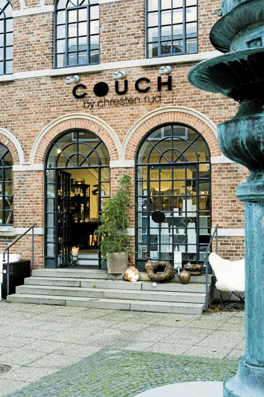 STILIG: Legg turen til Couch, like utenfor København, for stilrene designmøbler og interiørpynt.
