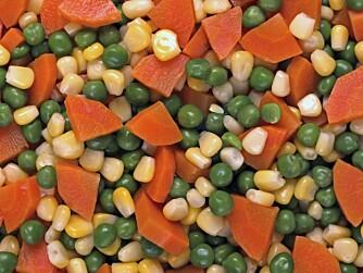 MIKS: Har du for eksempel en stavmikser, går det raskt å gjøre om kokte eller dampede grønnsaker til en smakfull puré.