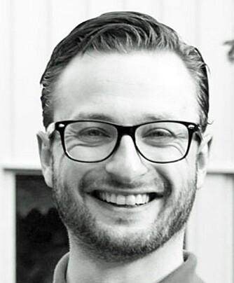 BRUKER URTER: Christoph Schmitz er matentusiasten som står bak bloggen Innifristelse.no. Han deltok også som deltaker i realityprogrammet Norges Grillmester tidligere i år.