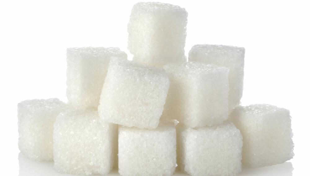 SUKKER KAN VÆRE SKADELIG: For mye sukker kan gi negative helseeffekter.