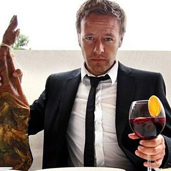 MATENTUSIAST: Christopher Sjuve, programleder, forfatter og journalist hos Klikk Mat.