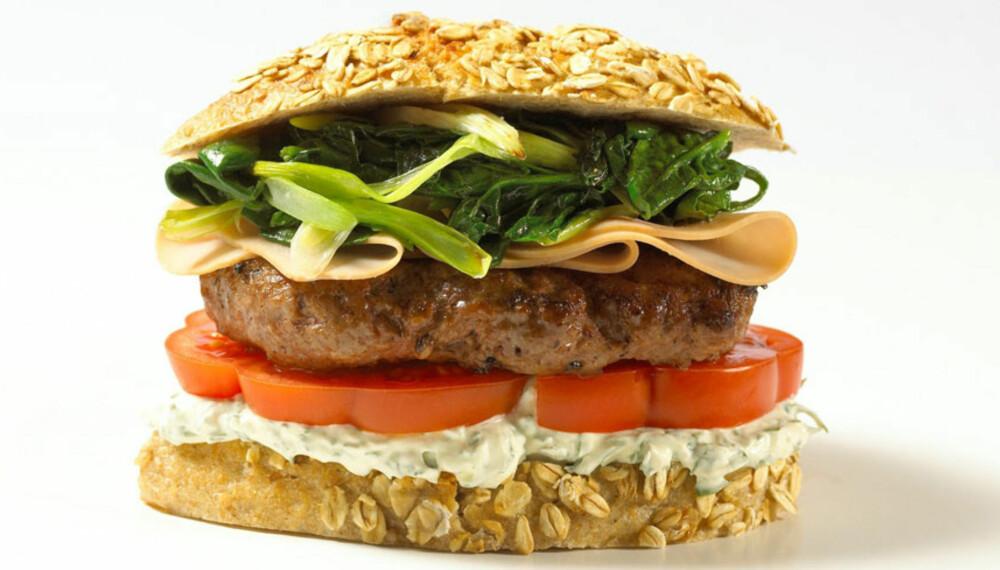 Dagens rett:         Bohemian burger