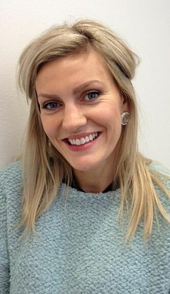 FRISØR: Camilla Algrøy Hansen ved Visit Your Hair.