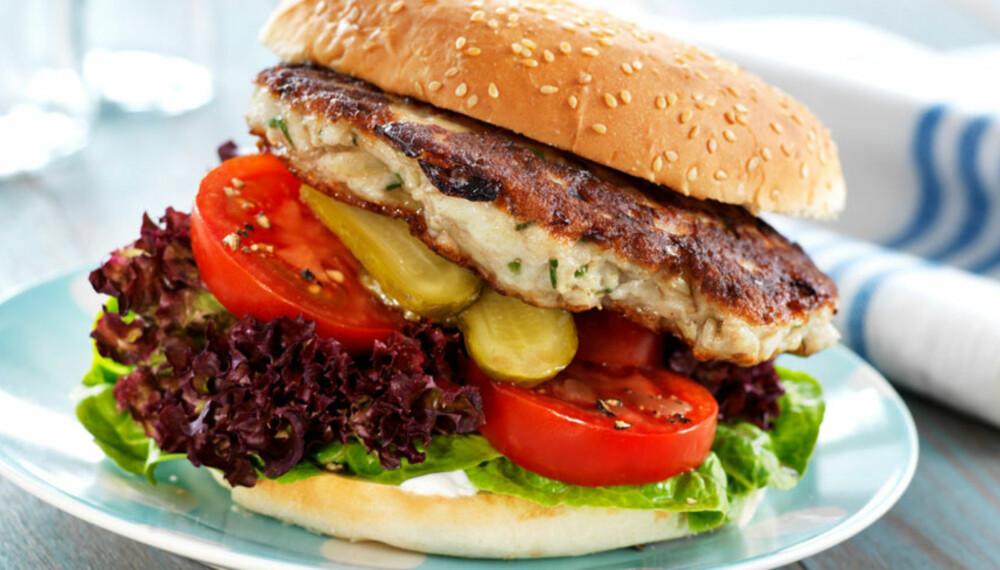 Dagens rett: Fiskeburger
