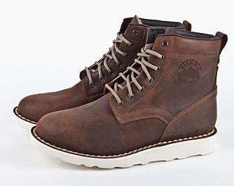 ITALIENSK DESIGN: Sko fra Diemme er blant Eirik Mogseths favoritter. Disse koster 3600 kr.