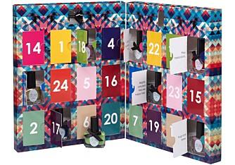 MINI MANI MONTH: Adventskalenderen fås kjøpt på Coverbrands.no. Prisen er 475,- og kalenderen kommer i begrenset antall på lager i slutten av november.