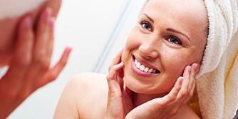 PEELING OG MASKER: Disse kan hjelpe huden din ved sesongskifte.