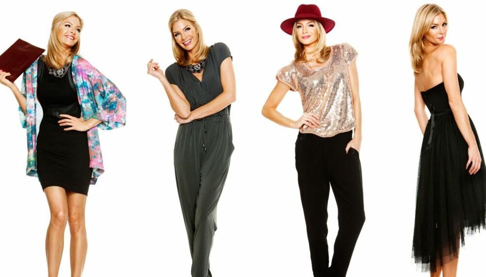 534a1f28 Julebordsantrekk: Kathrine Sørland viser hvordan du kan style deg i ulike  antrekk i julen.