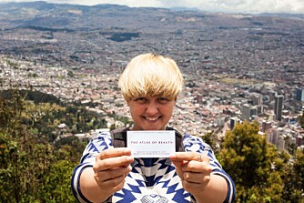 SELVPORTRETT: Mihaela Noroc i Bogota, Colombia.