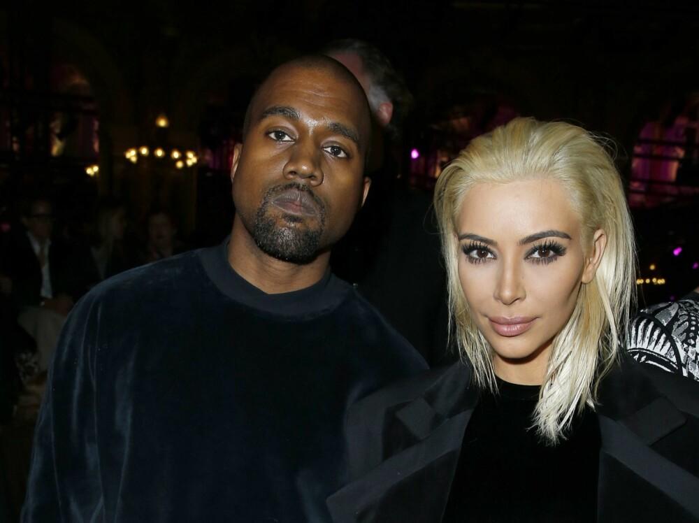 POPULÆRT PAR: Kim Kardashian er gift med Kanye West.