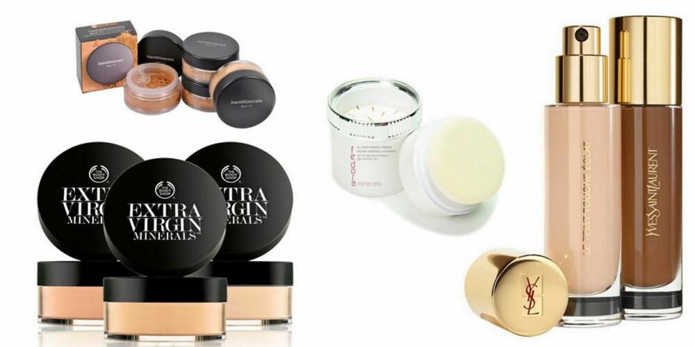 FOUNDATION: Bruk gjerne foundation som samtidig beskytter huden i sommersolen, men ikke dekk til ansiktet for mye, og dropp mattende pudder, tipser makeupartistene.